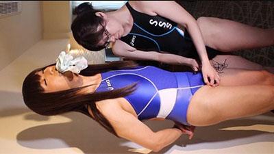 競泳水着 女装子 長澤玲奈
